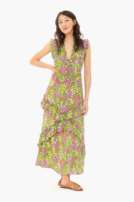 Banjanan Cottage Garden Lilac Multi Donna Dress