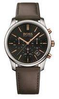 Hugo Boss 1513448 Chronograph Leather Strap Quartz Watch One Size Assorted-Pre-Pack