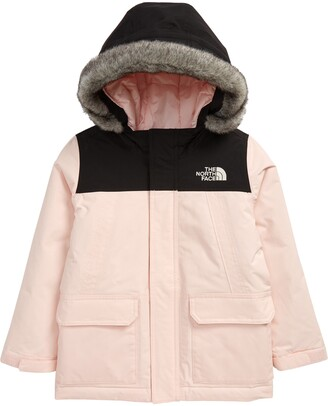 The North Face Kids' McMurdo Waterproof 550 Fill Power Down Parka with Faux Fur Trim
