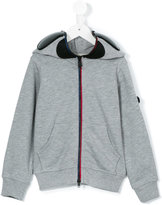 Ai Riders On The Storm Kids - futuristic hood jacket - kids - Cotton - 4 yrs