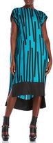 Ter Et Bantine Linear Silk Hi-Low Dress