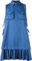 DSQUARED2 pleated shirt mini dress