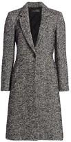 Rag & Bone Dani Herringbone One-Button Coat