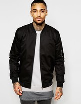 Asos Bomber Jacket in Black