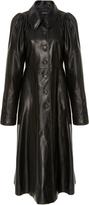 Jill Stuart Myla Leather Coat