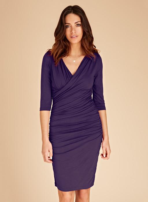 Isabella Oliver Jersey Drape Dress