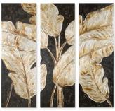 Uttermost 3-Pc. Golden Palms Wall Art