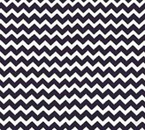 Camilla And Marc SheetWorld Fitted Bassinet Sheet - Navy Chevron Zigzag - Made In USA - 15 inches x 32 1/2 inches (38.1 cm x 82.6 cm)