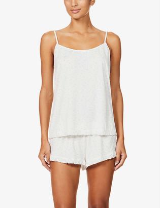 Eberjey Bloom floral-print stretch-modal pyjama shorts
