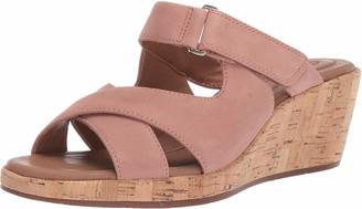 Clarks Women's Un Plaza Slide Wedge Sandal