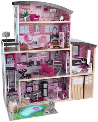Kid Kraft Sparkle Wooden Dolls House