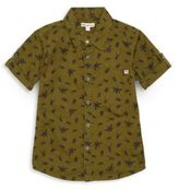 Appaman Toddler's, Little Boy's & Boy's Bug-Print Cotton Short Sleeve Shirt