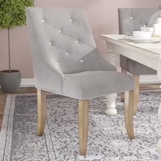 One Allium Wayâ® Shelton Contemporary Upholstered Dining Chair One Allium WayA