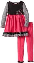 Rare Editions Girls 7-16 Knit To Corduroy Legging Set