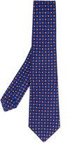 Kiton flower spot tie - men - Silk - One Size