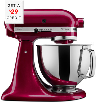 KitchenAid 5Qt Artisan Series With Pouring Shield - Ksm150psbx With $29 Credit