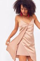 Six Crisp Days Tie-Back Slip Dress