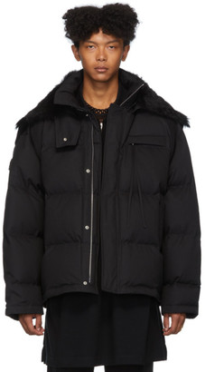Jil Sanderand Black Down Short Parka