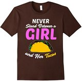 Men's Funny Girl Tacos T-shirt Food Meme Girl Power Quote Gift 2XL