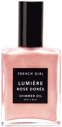 French Girl Organics Lumiere Rose Doree Shimmer Oil