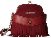 Love Moschino Fringe Clutch Crossbody Cross Body Handbags