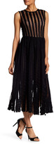 Tracy Reese Flare Midi Dress