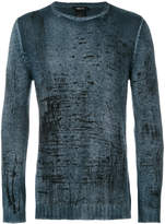 Avant Toi weathered effect jumper