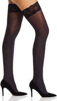 Pretty Polly Velvet Lace Stay-Up Thigh-High Tights