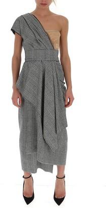 Dolce & Gabbana One Shoulder Asymmetric Dress