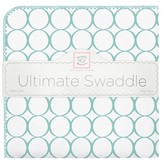 Swaddle Designs Ultimate Receiving Blanket - Mod Circles