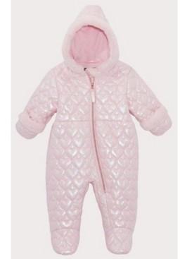 S. Rothschild Rothschild Baby Girls Faux Fur Trim Pram