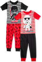 Star Wars 4-Pc. Cotton Pajama Set, Toddler Boys (2T-5T)