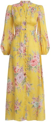 Zimmermann Zinnia Button Down Long Dress