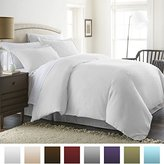 Beckham Luxury Linens Soft Brushed Hypoallergenic Microfiber 3-Piece King/Cal King Duvet Cover Set, White