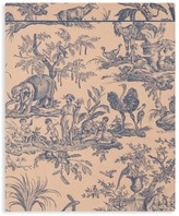 Drouault Paris Quatre Continents Floral Queen Flat Sheet
