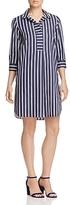 Foxcroft Nikki Stripe Non-Iron Shirt Dress