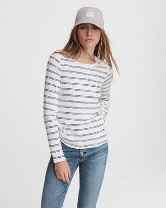 Rag & Bone The knit summer striped long sleeve
