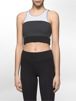 Calvin Klein Performance Colorblock Long Line Sports Bra