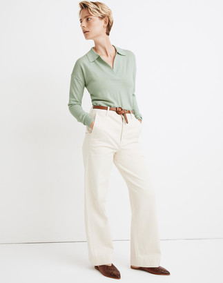 Madewell Polo Sweater