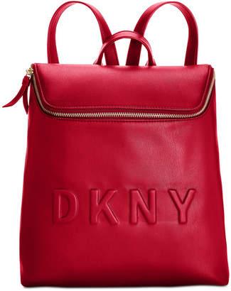 DKNY Tilly Top-Zip Bucket Backpack