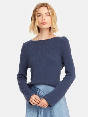 Vince Long Sleeve Boatneck Sweater