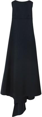 Carolina Herrera Draped Satin Gown
