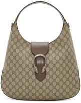 Gucci Beige Gg Supreme Dionysus Hobo Bag