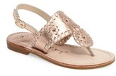 Jack Rogers Toddler Girl's Little Miss Hamptons Sandal
