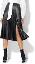 New York & Co. Pleated Slit Skirt