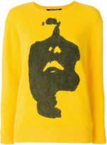 Neil Barrett Siouxsie print jumper