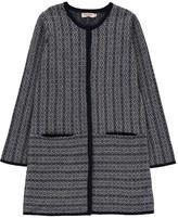 Nice Things Jacquard Merino Wool Coat
