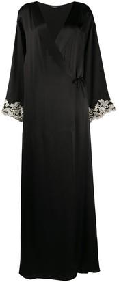 La Perla Maison long lace robe