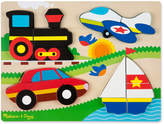 Melissa & Doug Chunky Jigsaw Puzzle Vehicles