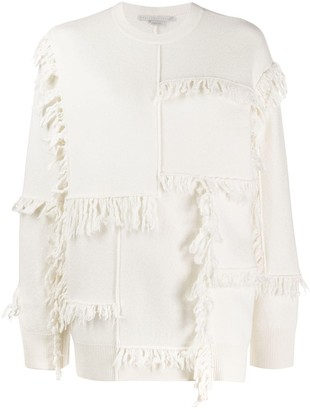 Stella McCartney fringed sweater